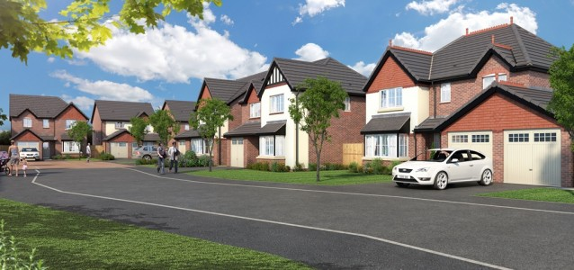 Work Starts On Luxury Housing Scheme In Forton